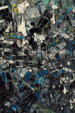 Jean-Paul Riopelle, 1 9 5 6,   Composition (detail).