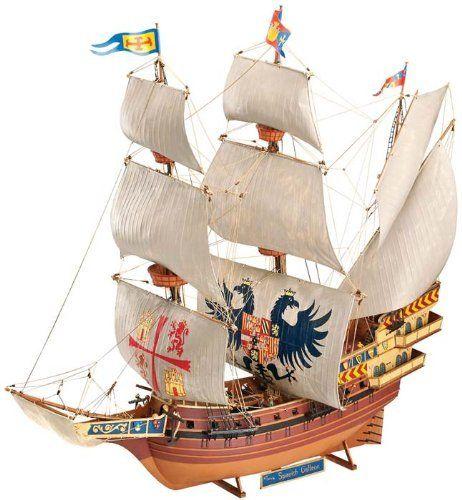 Revell Of Germany Spanish Galleon Plastic Model Kit Http