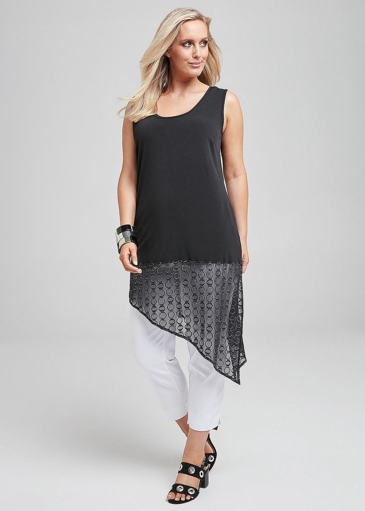 Step out in style for less with Plus Size Women's Tops on SALE at Taking Shape. Shop sizes 12 - 24 online today and get Free Shipping in Australia Over $60 , IN THE SPOTLIGHT TANK