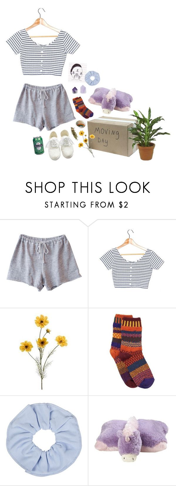 """""""she is leaving"""" by fairhykid ❤ liked on Polyvore featuring Clu, Solmate Socks and Pillow Pets"""