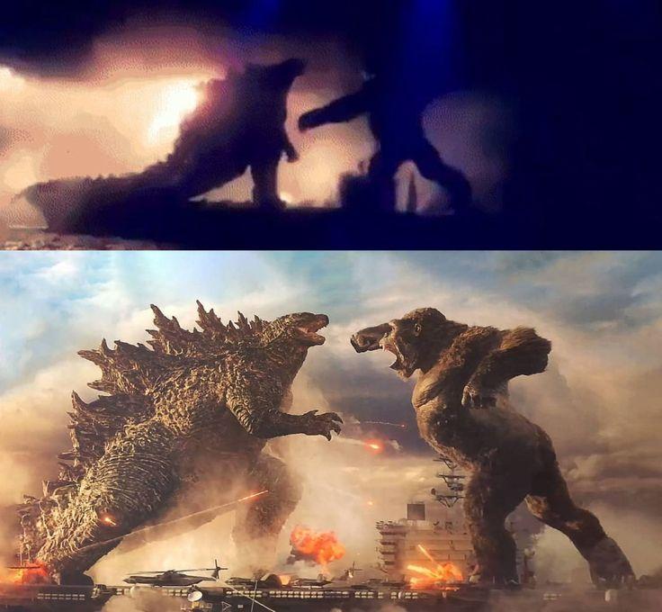 Godzilla Vs Kong Old Vs New By Mnstrfrc On Deviantart King Kong Vs Godzilla Kong Godzilla King Kong Art
