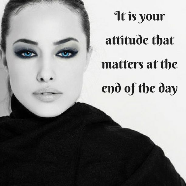 It is your attitude that matters at the end of the day. Learn to adjust it and see the difference it makes…#MotivationalAttitude
