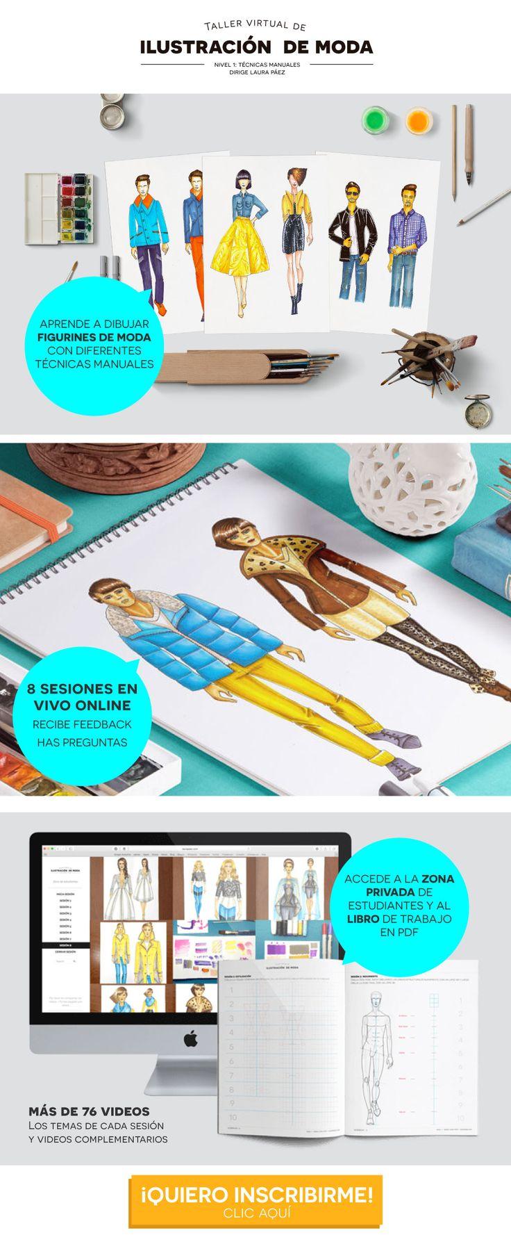 Aprende a dibujar figurines de moda desde cero en éste taller online. Te enseñaré desde lo básico la figura humana, estilización del figurín, dibujo de prendas y técnicas manuales de ilustración. Inscríbete haciendo clic en la imagen. Veremos las herramientas básicas de Photoshop e Illustrator #figurindemoda #ilustraciondemoda #croquisdemoda #fashionillustration#geometrales #techpacks