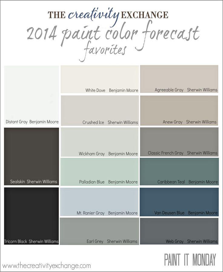 Most Popular Interior Paint Colors 111 best the next picasso's paint colors images on pinterest