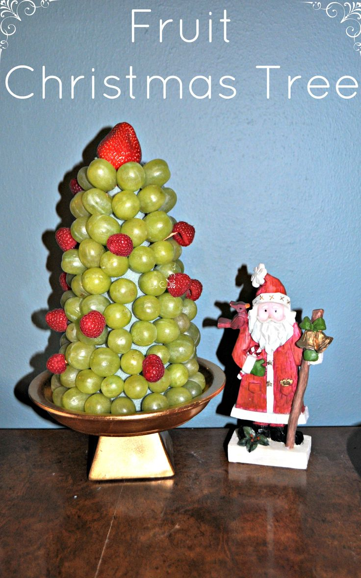 DIY Fruit Christmas Tree