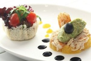Crab salad with yogurt dressing – Italian food recipes main dishes
