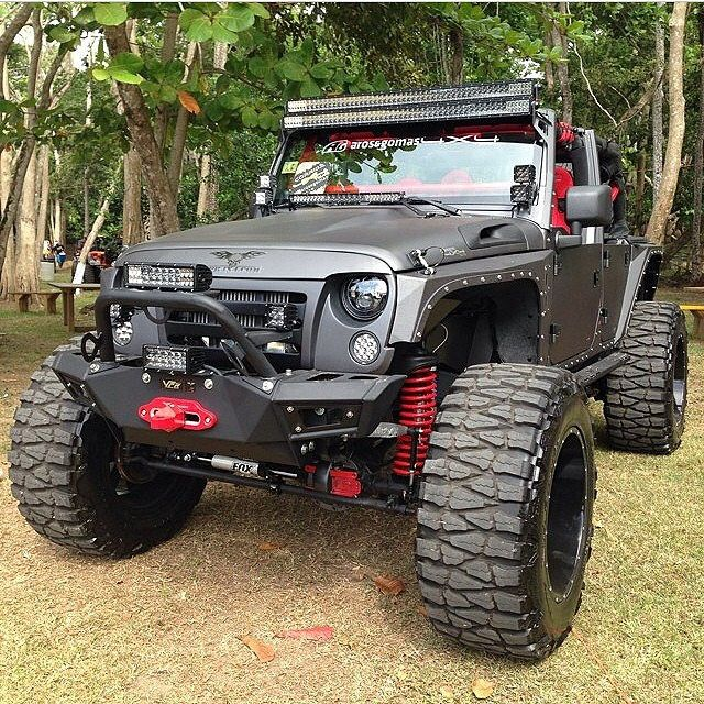 Custom Jeep Wrangler Equip With @VPR4x4 Bumpers | www.vpr4… | Flickr