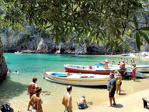 Cilento area (Campania region), and one of the most beautiful Italian public beaches.