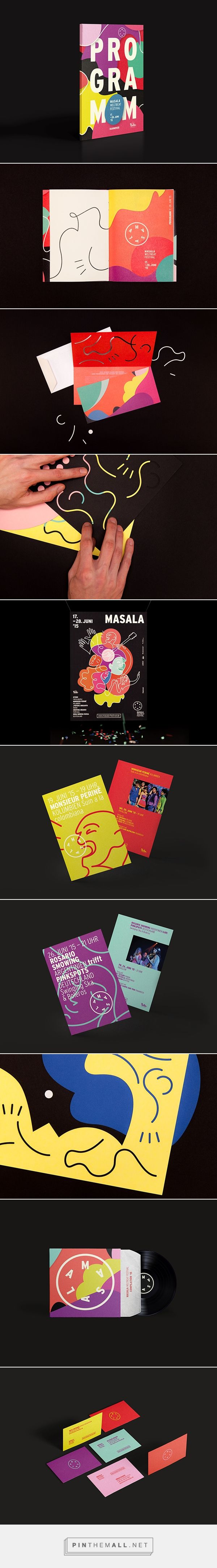 Masala Weltbeat Festival on Behance - created via http://pinthemall.net