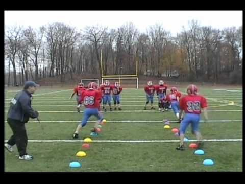 Football Cone Agility Drills
