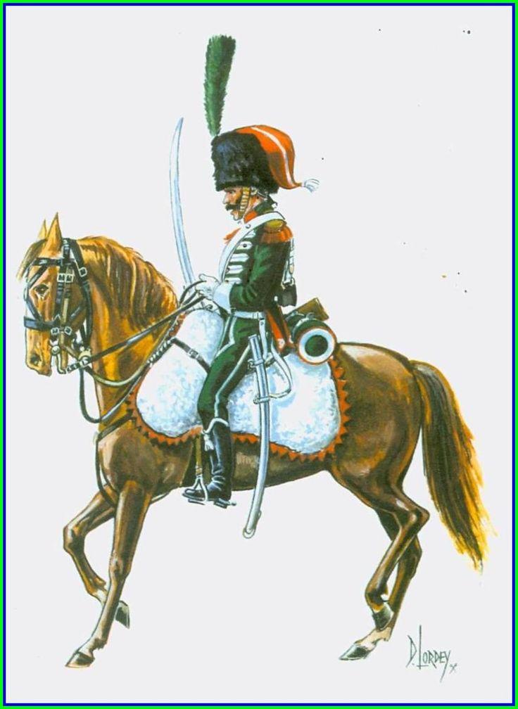 2è Chasseurs à Cheval - 1812
