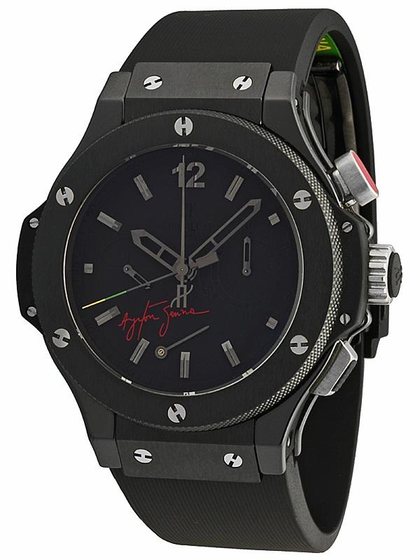 #Hublot Big Bang Ayrton Senna All Black Limited Edition