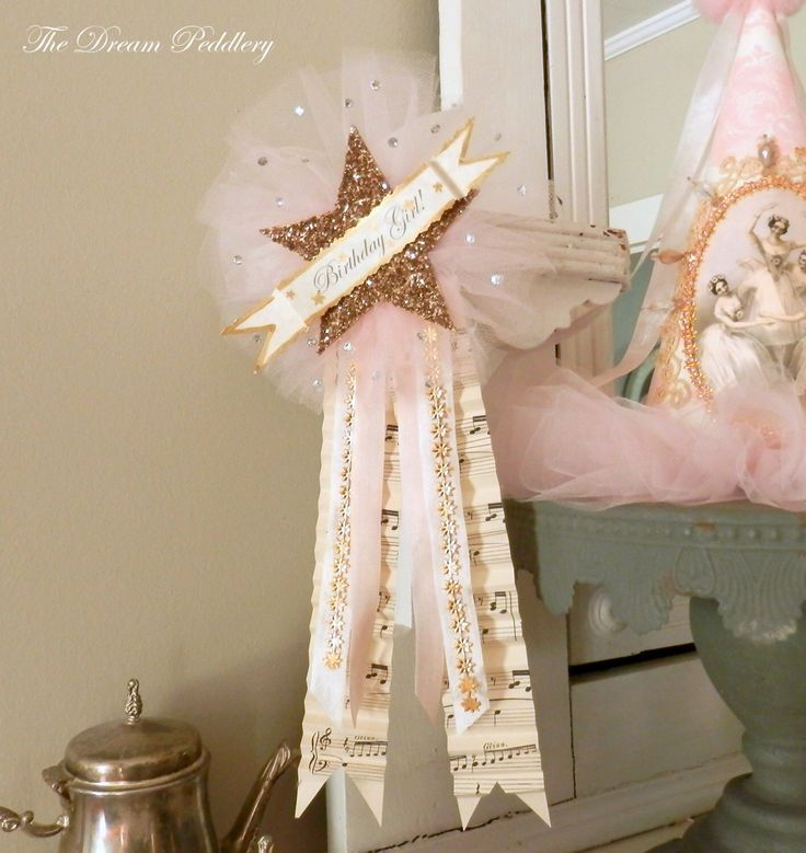 Sparkling Star. Birthday Girl Glass Glitter Star and Tulle Prize Ribbon Pin by TheDreamPeddlery on Etsy https://www.etsy.com/listing/230829889/sparkling-star-birthday-girl-glass