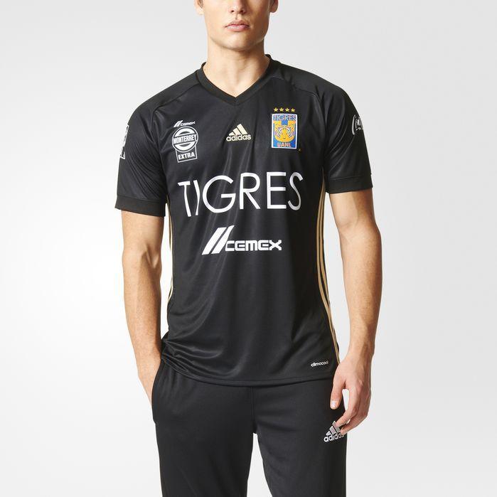 Tigres UANL Third Jersey Black L Mens | Jersey, Adidas men, Men