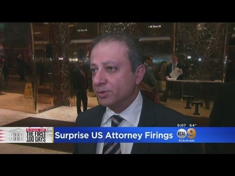 A LOT TO TALK ABOUT FIRST LET'S TALK ABOUT THE POSSIBLE BLOWBACK FOR PRESIDENT TRUMP AFTER THE SURPRISE FIRING A 466 U.S. GETTING RID OF THE U.S. ATTORNEYS WHEN A NEW ADMINISTRATION ANYTHING NEW. SOMETIMES IT IS EXPECTED. HE TOLDPreet Bharara HE WOULD KEEPPreet Bharara ON.   #KCAL 9 News Evening #preet bharara