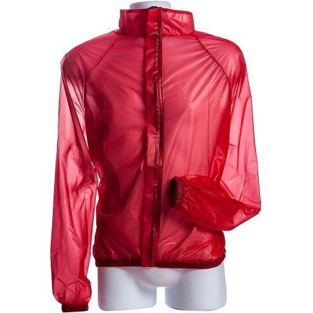 Walco Visibility W9010-RD L Size Red Raincoat, Red