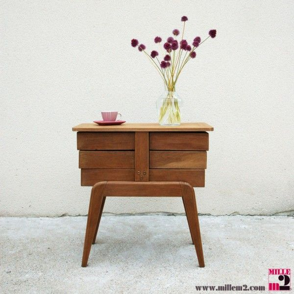 ... Bedside Cabinet, Chevet Vintage and Chambre Adulte Complete