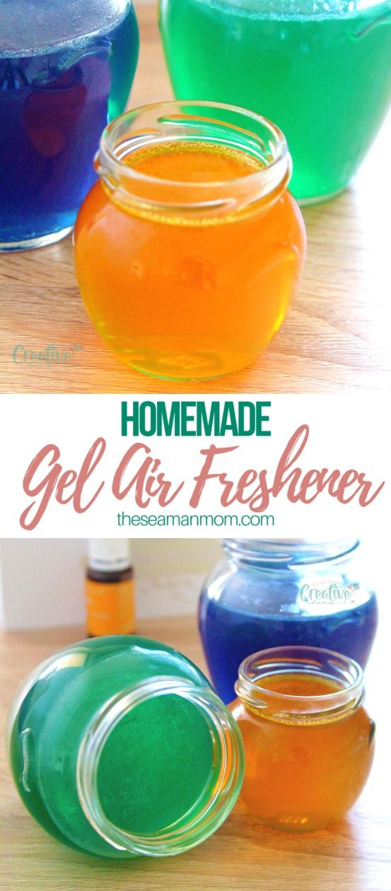 Need A Natural Way To Scent Your Home Everyone Loves Nice In Their Homes This Gel Air Freshener Is Useful Affordable And