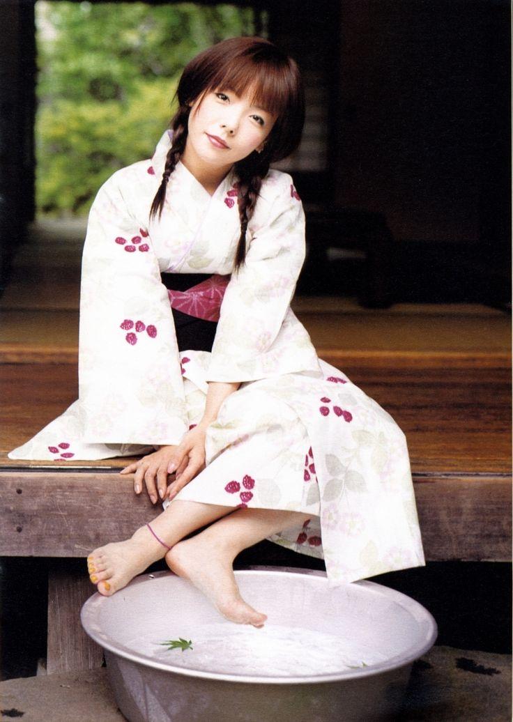 Japanese singer Aiko in yukata.
