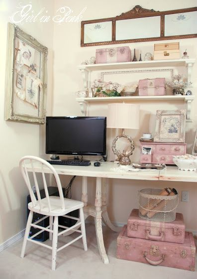 94 Best Shabby Chic Home Office Images On Pinterest Home