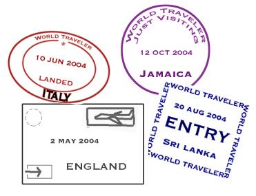 25 b sta id erna om passport template p pinterest for Make your own passport template
