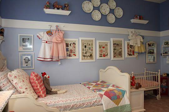 Винтажная комната для девочки