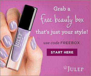 Julep Maven Subscription - first box free