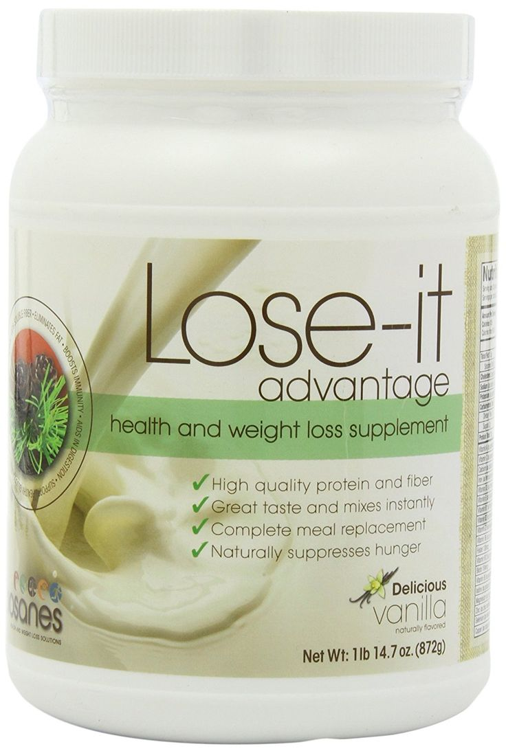 Lose-it _€ Best Weight Loss Supplement _€ Full Meal Replacement Shake - Healthy Weight Loss Mix - Natural Hunger Suppressant - Natural Fiber and Protein - Delicious Low Carb Smoothie (13-26g of Protein Per Serving 1 Container 30 Meals, Vanilla). -- Star
