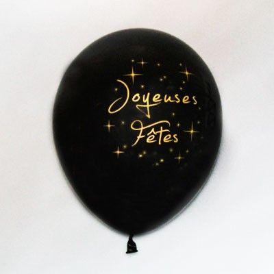 Découvrez nos nouveaux ballons « Joyeuses Fêtes » aux coloris festifs pour sublimer votre déco de salle de fin d'année !   A utiliser sans modération pour votre réveillon de Noël ou de Saint Sylvestre !