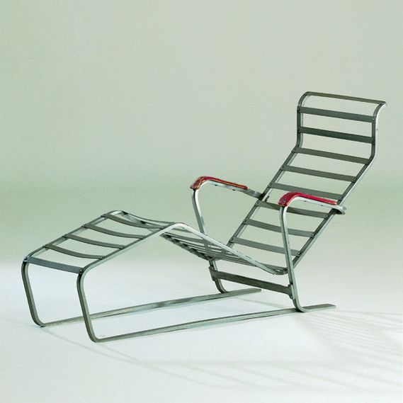 Designer: Marcel Breuer Piece: Chaise Longue No. 313 Design: 1932  Production: