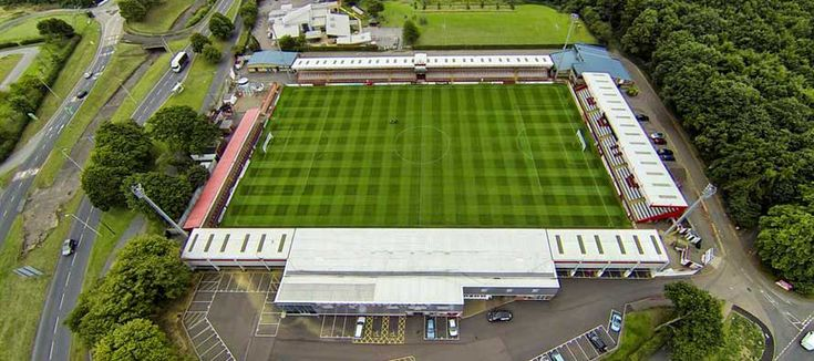 Broadhall Way - Aerial - Stevenage FC