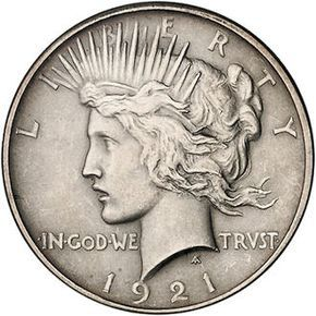 most expensive dollars   Silver Peace Dollar Coins
