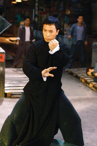 Donnie Yen, lead actor in the best Wing Chun biographies.