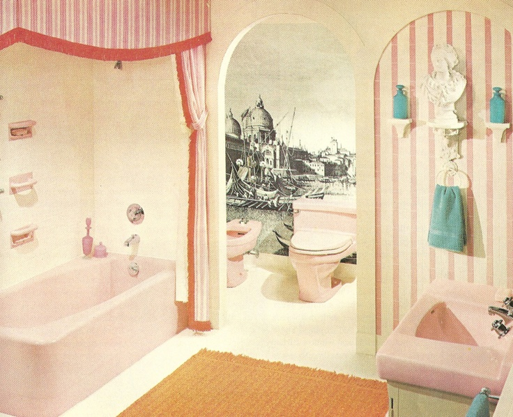 65 best the 1960 decor images on pinterest for the home for 1960s bathroom design