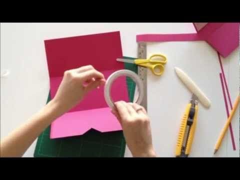 Bryllupsinvitation i pink - Flot DIY invitation til bryllup