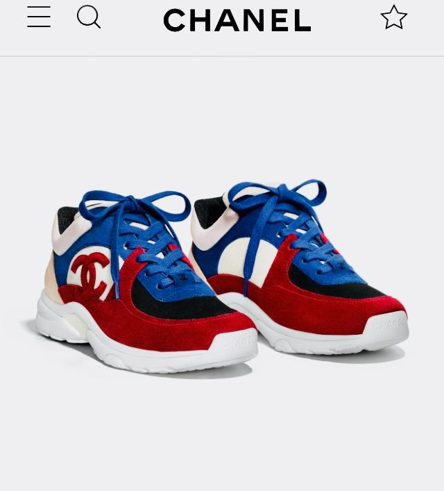 4999450f843238 Chanel sneakers
