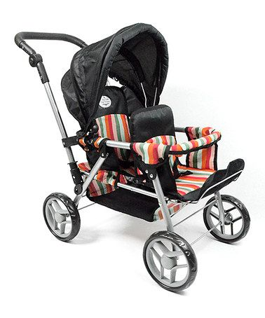 Another great find on #zulily! Twin Doll Stroller # ...