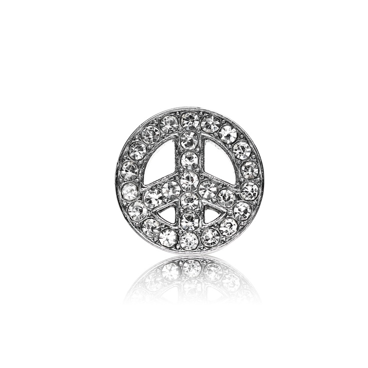 Loving Peace Dog Charm
