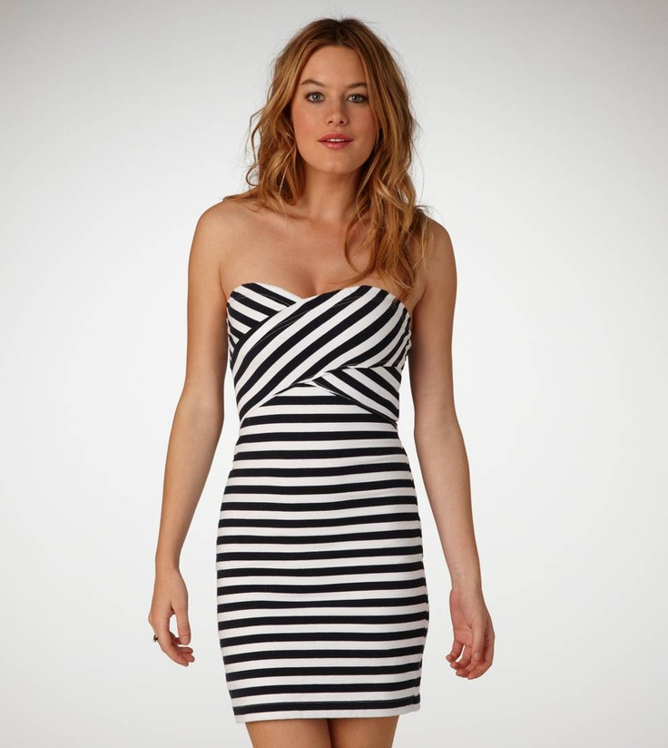 Super cute striped dress from American Eagle Outfitters