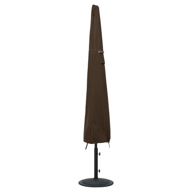 Madrona Umbrella Cover - Dark Cocoa (Brown) - Classic Accessories