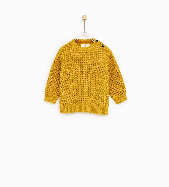 Image 3 of TEXTURED KNIT SWEATER from Zara