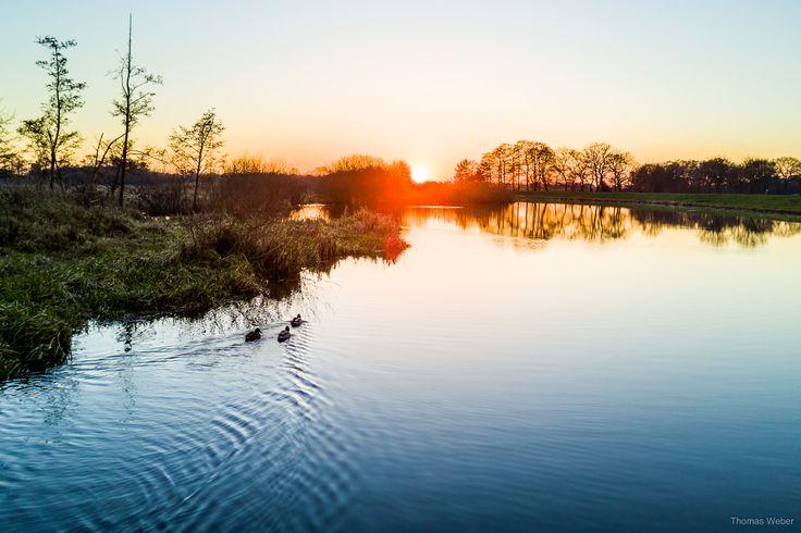 Beautiful sunset above a swamp in Lower Saxony, Germany.  Follow me on Instagram: https://www.instagram.com/phothomas.de/  #sunset #sonnenuntergang #swamp #moor #niedersachsen #lowersaxony #germany #dji #mavic #djimavicpro #multicopter #drone #water #river #romance #goodmood #nature  #photography #phothomas #photographer #oldenburg #rastede #bremen #fotograf #thomasweber #photooftheday #picoftheday #amazing