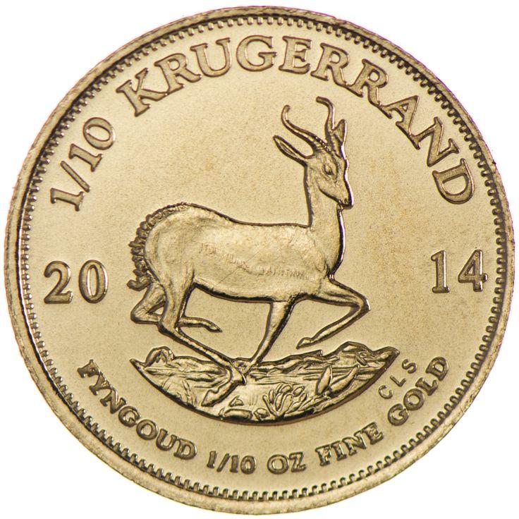 Krugerrand 1/10 Unze Gold 2014, 9167/1000