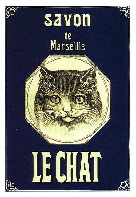 Savon de Marseille Le Chat by Ωméga *, via Flickr