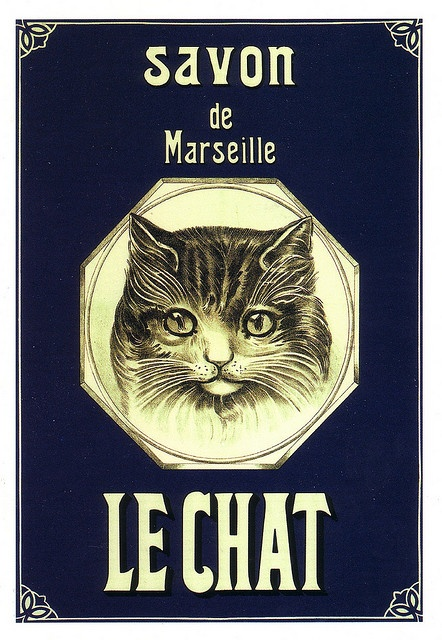 Savon de Marseille Le Chat by Ωméga *, via Flickr