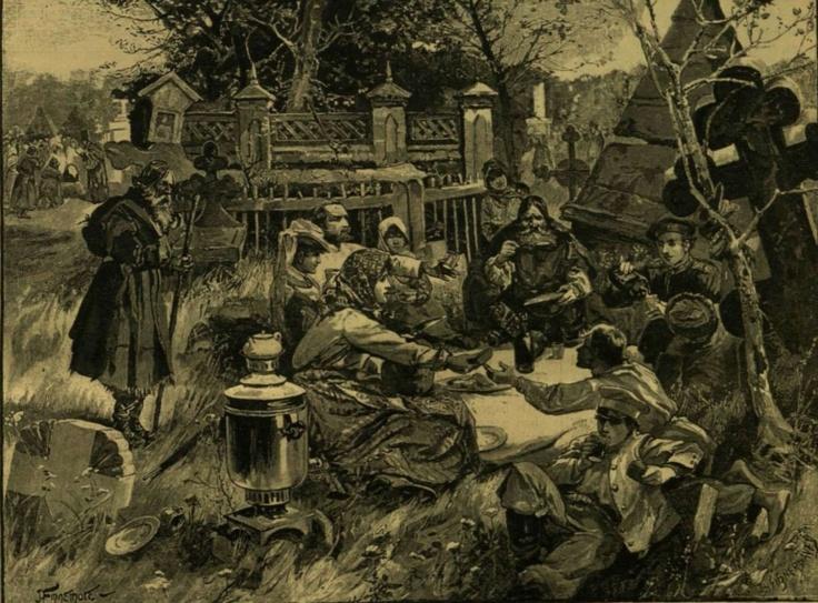 Oroszok húsvéti lakomázása a sirok közt    http://keptar.oszk.hu/html/kepoldal/index.phtml?id=35724