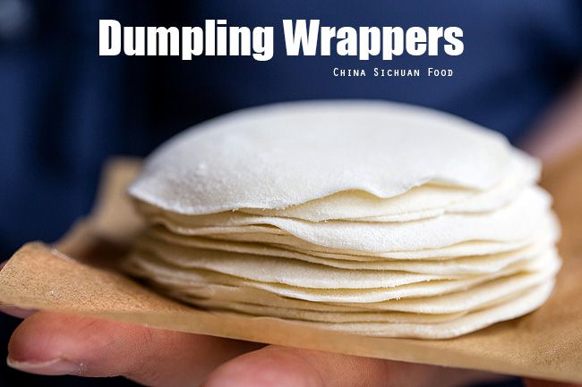How to make Dumpling wrappers yourself