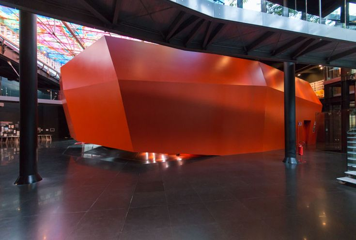 The @macromuseum in #Rome by Odile Decq, portrayed by Riccardo Bianchini for #Inexhibit magazine