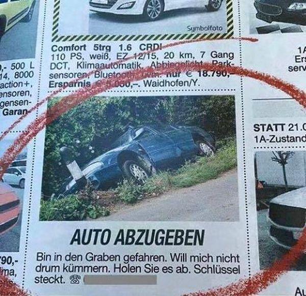 Auto günstig abzugeben