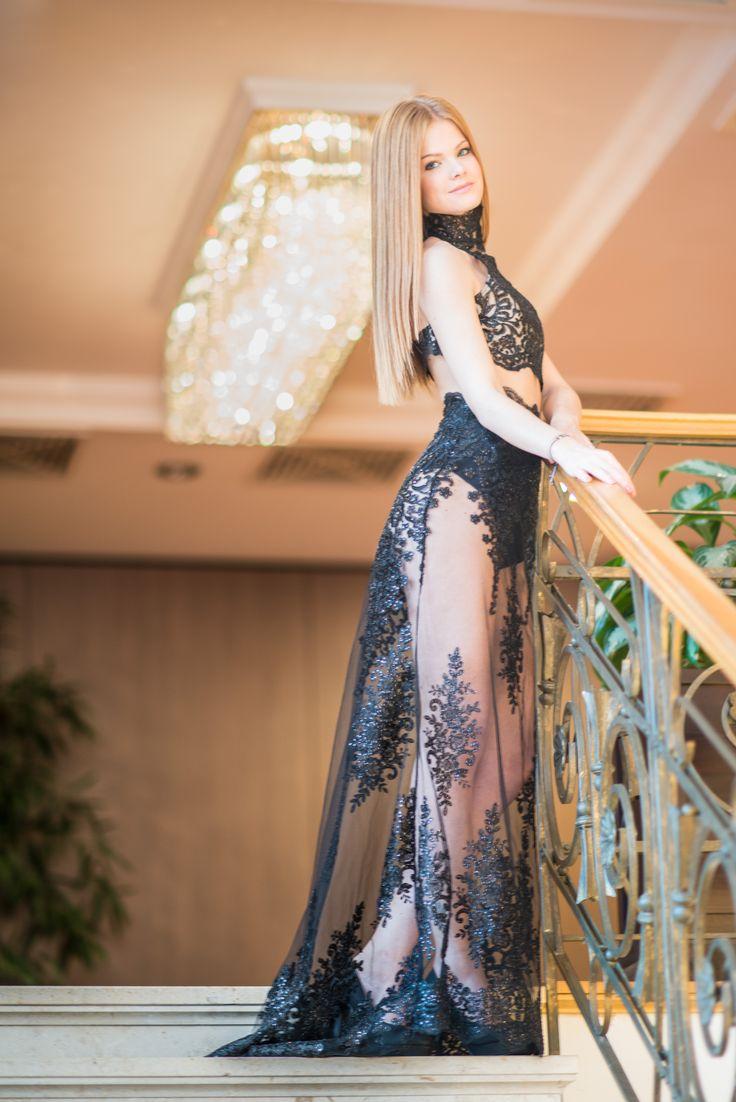 SZONJA DUDIK evening dress Princess collection